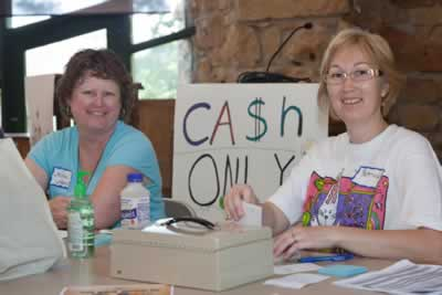 Volunteer to make Herb & Craft Fair products