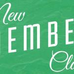 New Member Class, Jan. 20