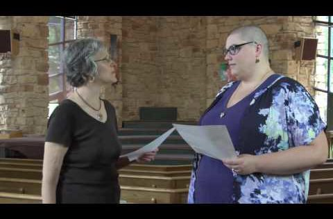 Covenant between Rev. Gail Seavey and Meghann Robern