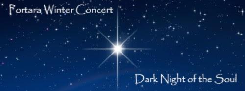 Portara Winter Concert, Dec 9 and 10