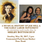 Free Joe Hill Show, May 28